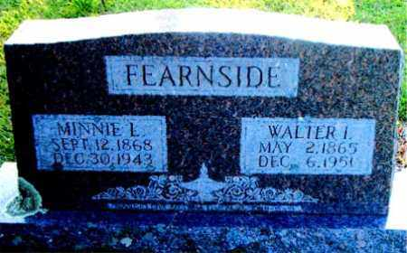FEARNSIDE, MINNIE  LOUELLA - Boone County, Arkansas | MINNIE  LOUELLA FEARNSIDE - Arkansas Gravestone Photos