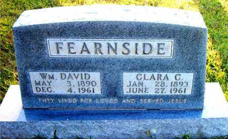 FEARNSIDE, WILLIAM DAVID - Boone County, Arkansas | WILLIAM DAVID FEARNSIDE - Arkansas Gravestone Photos