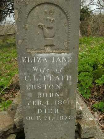 FEATHERSTON, ELIZA JANE - Boone County, Arkansas | ELIZA JANE FEATHERSTON - Arkansas Gravestone Photos