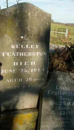 FEATHERSTON, KELLEY - Boone County, Arkansas | KELLEY FEATHERSTON - Arkansas Gravestone Photos