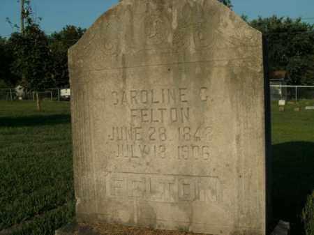 FELTON, CAROLINE G. - Boone County, Arkansas | CAROLINE G. FELTON - Arkansas Gravestone Photos