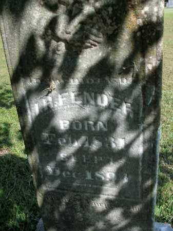 FENDER, I.H. - Boone County, Arkansas | I.H. FENDER - Arkansas Gravestone Photos