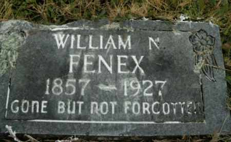 FENEX, WILLIAM N. - Boone County, Arkansas | WILLIAM N. FENEX - Arkansas Gravestone Photos