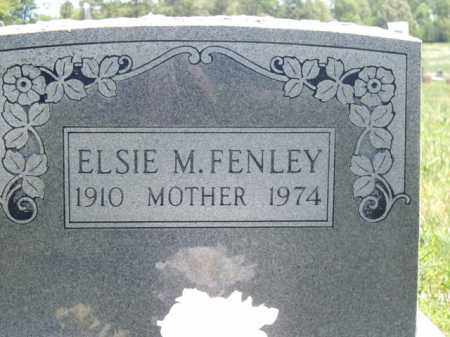 FENLEY, ELSIE M. - Boone County, Arkansas | ELSIE M. FENLEY - Arkansas Gravestone Photos