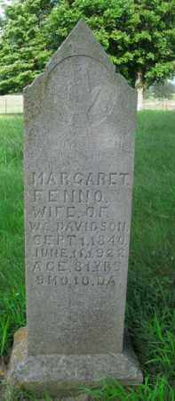 FENNO, MARGARET - Boone County, Arkansas | MARGARET FENNO - Arkansas Gravestone Photos