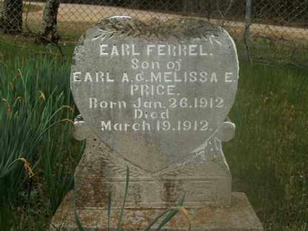 FERREL, EARL - Boone County, Arkansas   EARL FERREL - Arkansas Gravestone Photos