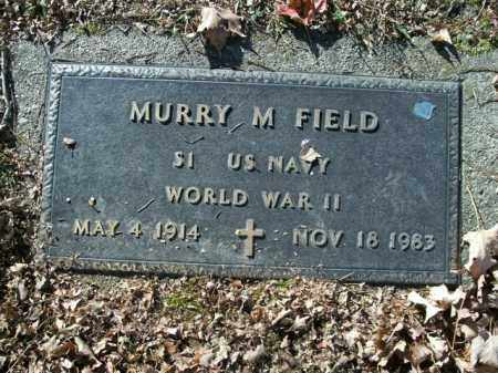 FIELD  (VETERAN WWII), MURRY M. - Boone County, Arkansas | MURRY M. FIELD  (VETERAN WWII) - Arkansas Gravestone Photos