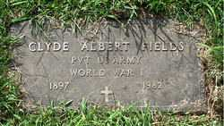 FIELDS  (VETERAN WWI), CLYDE ALBERT - Boone County, Arkansas | CLYDE ALBERT FIELDS  (VETERAN WWI) - Arkansas Gravestone Photos