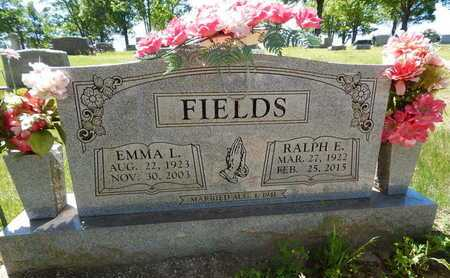 FIELDS, EMMA L. - Boone County, Arkansas | EMMA L. FIELDS - Arkansas Gravestone Photos