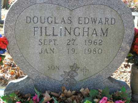 FILLINGHAM, DOUGLAS EDWARD - Boone County, Arkansas | DOUGLAS EDWARD FILLINGHAM - Arkansas Gravestone Photos