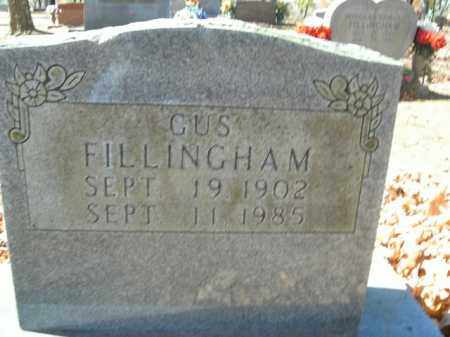 FILLINGHAM, GUS - Boone County, Arkansas | GUS FILLINGHAM - Arkansas Gravestone Photos