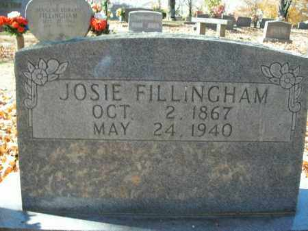 FILLINGHAM, JOSIE - Boone County, Arkansas | JOSIE FILLINGHAM - Arkansas Gravestone Photos