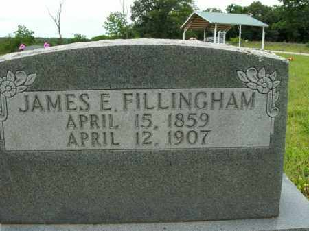 FILLINGHAM, JAMES E. - Boone County, Arkansas | JAMES E. FILLINGHAM - Arkansas Gravestone Photos