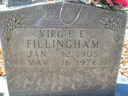 FILLINGHAM, VIRGIE E. - Boone County, Arkansas | VIRGIE E. FILLINGHAM - Arkansas Gravestone Photos