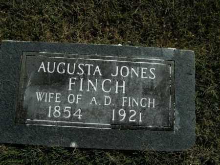 JONES FINCH, AUGUSTA - Boone County, Arkansas | AUGUSTA JONES FINCH - Arkansas Gravestone Photos