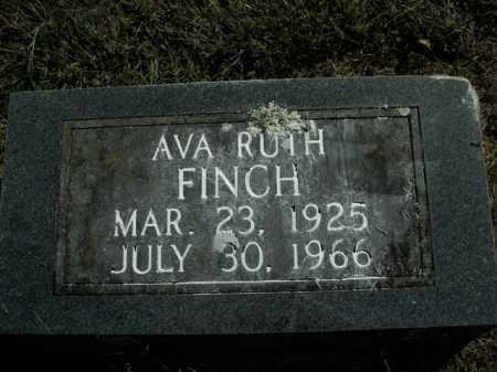 FINCH, AVA RUTH - Boone County, Arkansas | AVA RUTH FINCH - Arkansas Gravestone Photos