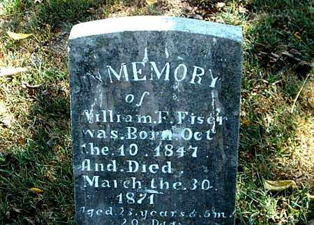 FISER, WILLIAM  F. - Boone County, Arkansas | WILLIAM  F. FISER - Arkansas Gravestone Photos