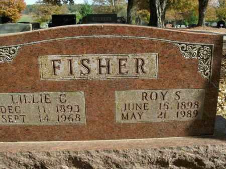 FISHER, LILLIE C. - Boone County, Arkansas | LILLIE C. FISHER - Arkansas Gravestone Photos