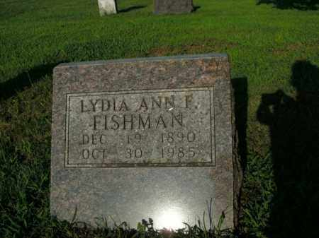FISHMAN, LYDIA ANN F. - Boone County, Arkansas | LYDIA ANN F. FISHMAN - Arkansas Gravestone Photos