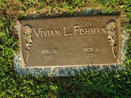 FISHMAN, VIVIAN L. - Boone County, Arkansas | VIVIAN L. FISHMAN - Arkansas Gravestone Photos