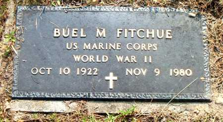 FITCHUE  (VETERAN WWII), BUEL M - Boone County, Arkansas | BUEL M FITCHUE  (VETERAN WWII) - Arkansas Gravestone Photos
