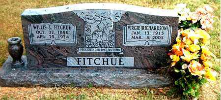 RICHARDSON FITCHUE, VIRGIE - Boone County, Arkansas | VIRGIE RICHARDSON FITCHUE - Arkansas Gravestone Photos