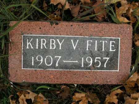 FITE, KIRBY V. - Boone County, Arkansas | KIRBY V. FITE - Arkansas Gravestone Photos