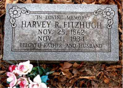 FITZHUGH, HARVEY R. - Boone County, Arkansas | HARVEY R. FITZHUGH - Arkansas Gravestone Photos