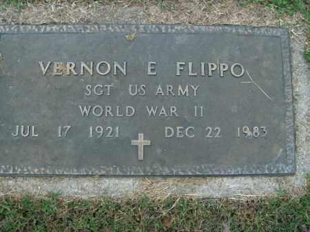 FLIPPO  (VETERAN WWII), VERNON E - Boone County, Arkansas | VERNON E FLIPPO  (VETERAN WWII) - Arkansas Gravestone Photos