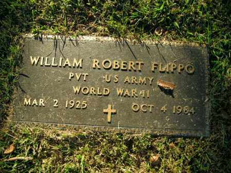 FLIPPO  (VETERAN WWII), WILLIAM ROBERT - Boone County, Arkansas | WILLIAM ROBERT FLIPPO  (VETERAN WWII) - Arkansas Gravestone Photos