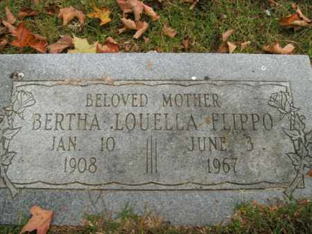 FLIPPO, BERTHA LOUELLA - Boone County, Arkansas | BERTHA LOUELLA FLIPPO - Arkansas Gravestone Photos