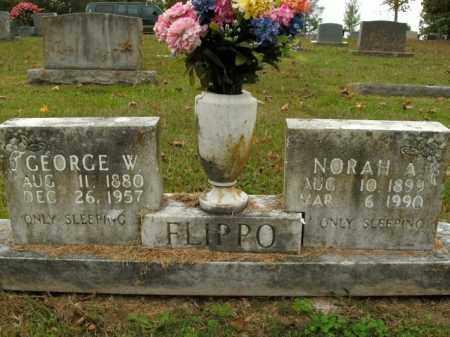 FLIPPO, GEORGE WASHINGTON - Boone County, Arkansas | GEORGE WASHINGTON FLIPPO - Arkansas Gravestone Photos