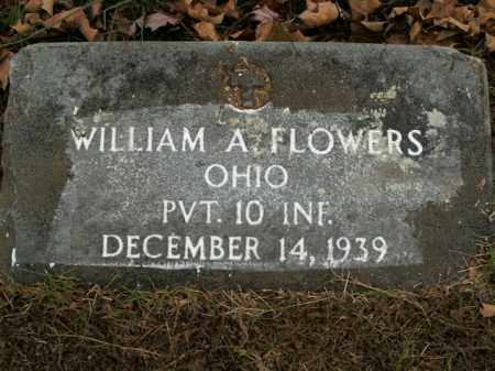 FLOWERS  (VETERAN), WILLIAM A - Boone County, Arkansas | WILLIAM A FLOWERS  (VETERAN) - Arkansas Gravestone Photos