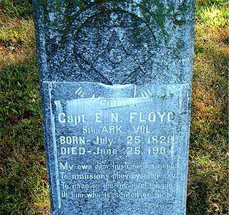 FLOYD  (VETERAN CSA), E.N. - Boone County, Arkansas | E.N. FLOYD  (VETERAN CSA) - Arkansas Gravestone Photos