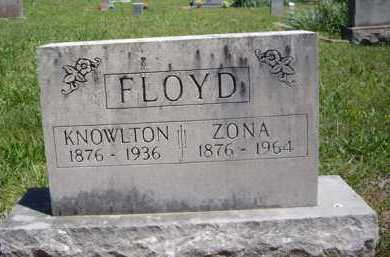 "FLOYD, ARIZONA ""ZONA"" - Boone County, Arkansas 