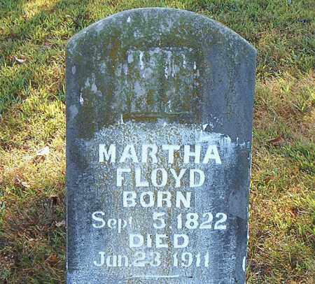 FLOYD, MARTHA - Boone County, Arkansas | MARTHA FLOYD - Arkansas Gravestone Photos