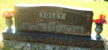 FOLEY, NOLA - Boone County, Arkansas | NOLA FOLEY - Arkansas Gravestone Photos