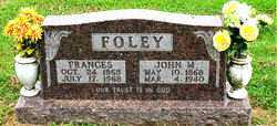 FOLEY, JOHN M. - Boone County, Arkansas | JOHN M. FOLEY - Arkansas Gravestone Photos