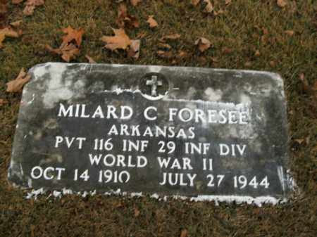 FORESEE  (VETERAN WWII), MILARD C - Boone County, Arkansas | MILARD C FORESEE  (VETERAN WWII) - Arkansas Gravestone Photos