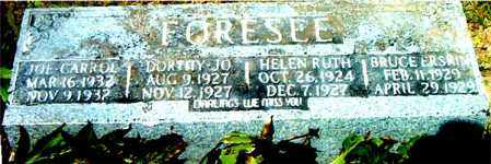 FORESEE, BRUCE ERSRIN - Boone County, Arkansas | BRUCE ERSRIN FORESEE - Arkansas Gravestone Photos