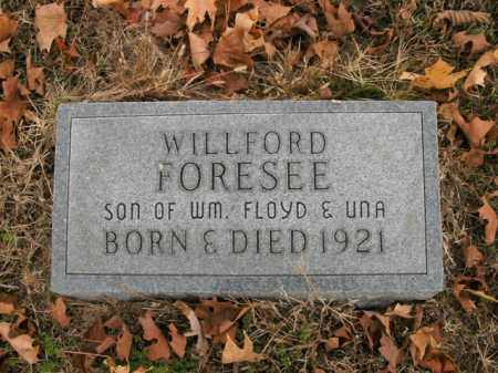 FORESEE, WILLFORD - Boone County, Arkansas | WILLFORD FORESEE - Arkansas Gravestone Photos