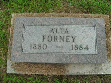 FORNEY, ALTA - Boone County, Arkansas | ALTA FORNEY - Arkansas Gravestone Photos
