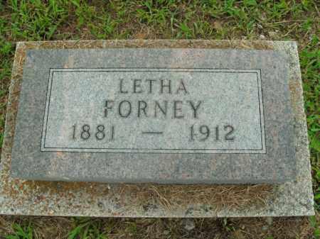FORNEY, LETHA - Boone County, Arkansas | LETHA FORNEY - Arkansas Gravestone Photos