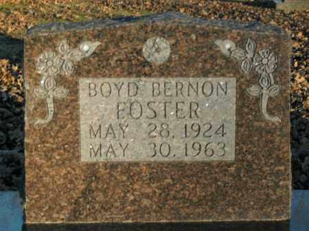 FOSTER, BOYD BERNON - Boone County, Arkansas | BOYD BERNON FOSTER - Arkansas Gravestone Photos