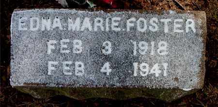 FOSTER, EDNA MARIE - Boone County, Arkansas | EDNA MARIE FOSTER - Arkansas Gravestone Photos