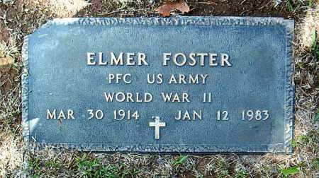 FOSTER  (VETERAN WWII), ELMER - Boone County, Arkansas | ELMER FOSTER  (VETERAN WWII) - Arkansas Gravestone Photos