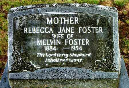 FOSTER, REBECCA JANE - Boone County, Arkansas | REBECCA JANE FOSTER - Arkansas Gravestone Photos