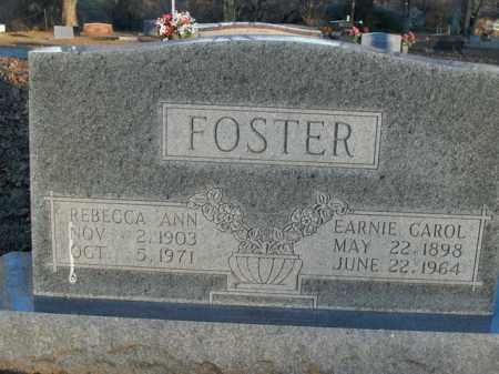 FOSTER, EARNIE CAROL - Boone County, Arkansas | EARNIE CAROL FOSTER - Arkansas Gravestone Photos
