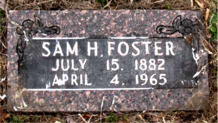 FOSTER, SAM  HARRIS - Boone County, Arkansas | SAM  HARRIS FOSTER - Arkansas Gravestone Photos