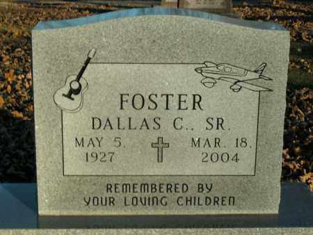 FOSTER, SR, DALLAS C. - Boone County, Arkansas | DALLAS C. FOSTER, SR - Arkansas Gravestone Photos